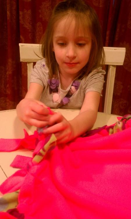 Lydia, blanket, 3