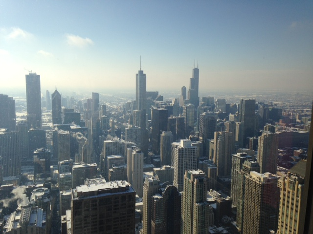 View from Hancock