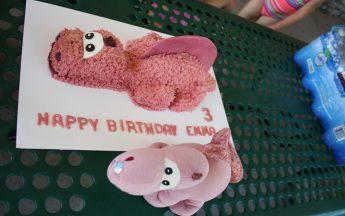 Emma's third birthday party