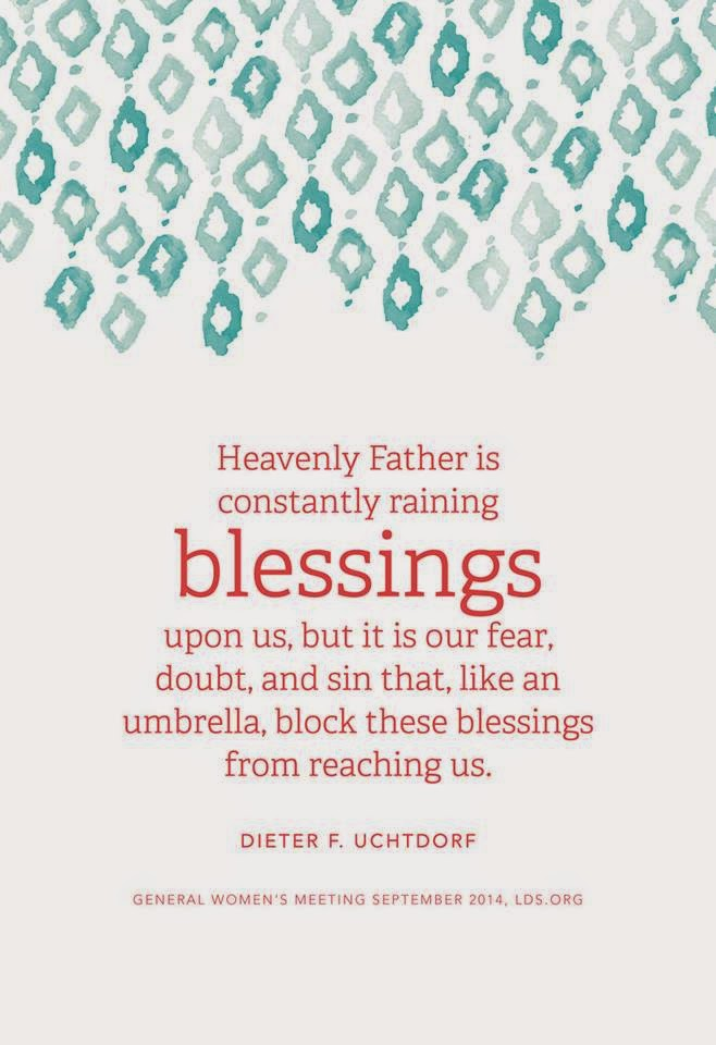 rain blessings uchtdorf