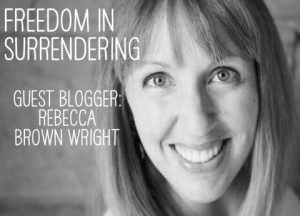 Freedom in Surrender — Guest Post on Stressed but Still Smiling