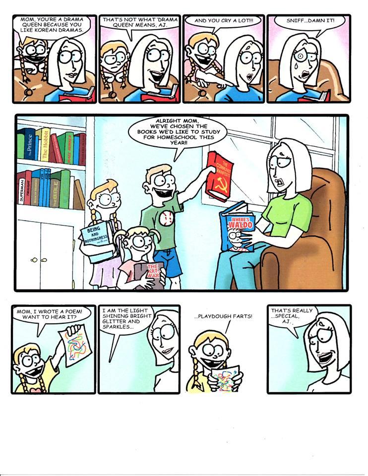 Please Don't Call Child Services Comic